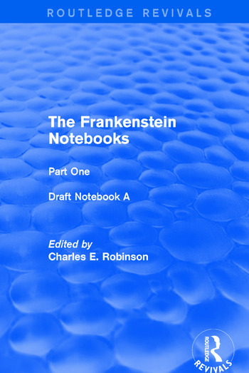 The Frankenstein Notebooks Part One Draft Notebook A book cover