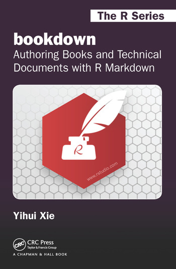 bookdown Authoring Books and Technical Documents with R Markdown book cover