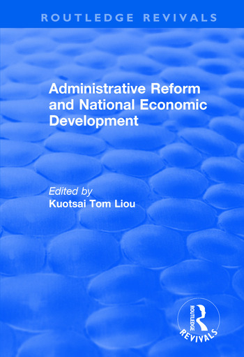 Administrative Reform and National Economic Development book cover