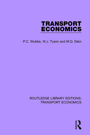 Transport Economics book cover