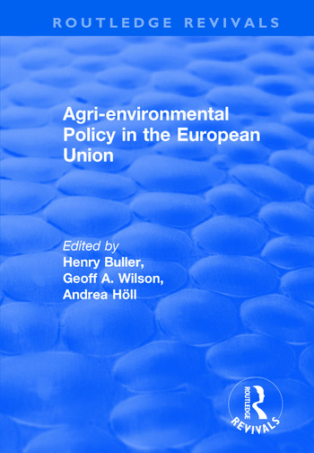 Agri-environmental Policy in the European Union book cover