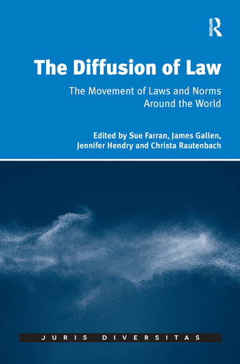 The Diffusion of Law The Movement of Laws and Norms Around the World book cover