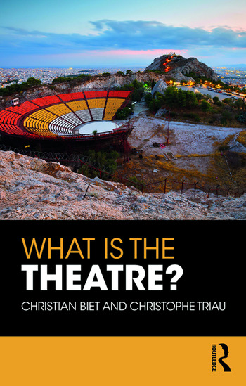 What is the Theatre? book cover