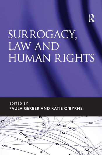 Surrogacy, Law and Human Rights book cover