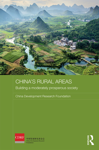 China's Rural Areas Building a Moderately Prosperous Society book cover