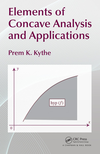 Elements of Concave Analysis and Applications book cover