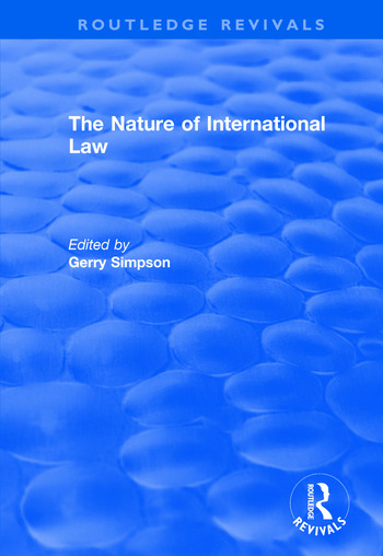 The Nature of International Law book cover