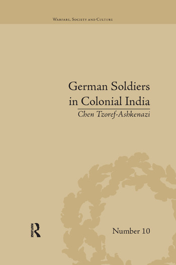 German Soldiers in Colonial India book cover