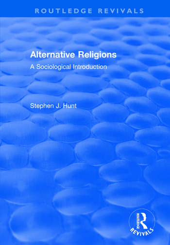 Alternative Religions A Sociological Introduction book cover