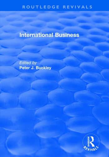 International Business book cover