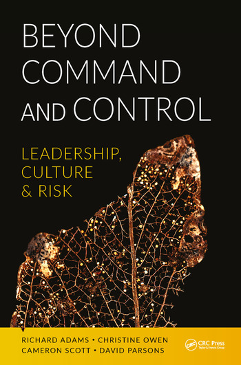 Beyond Command and Control Leadership, Culture and Risk book cover