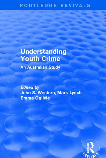 Understanding Youth Crime An Australian Study book cover