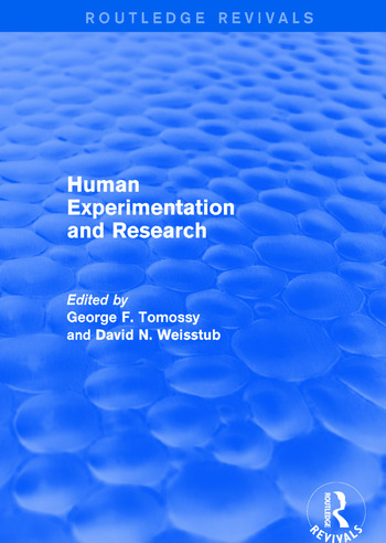 Revival: Human Experimentation and Research (2003) book cover