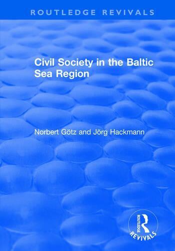 Civil Society in the Baltic Sea Region book cover