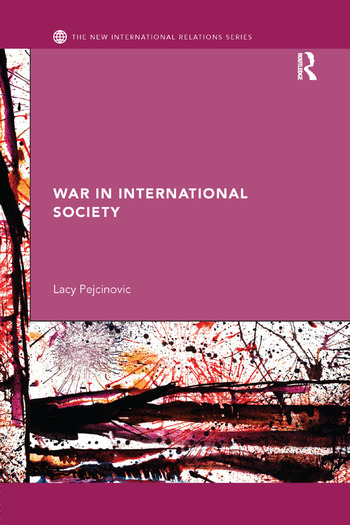 War in International Society book cover