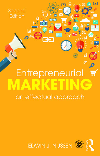 Entrepreneurial Marketing An Effectual Approach book cover