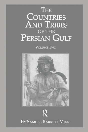 The Countries & Tribes Of The Persian Gulf book cover
