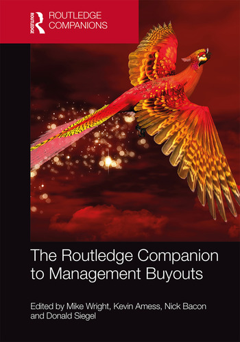 The Routledge Companion to Management Buyouts book cover