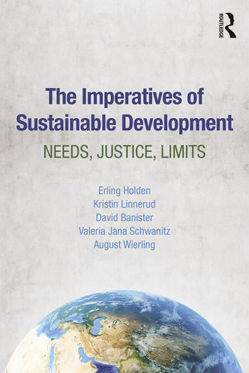 The Imperatives of Sustainable Development Needs, Justice, Limits book cover