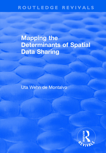Mapping the Determinants of Spatial Data Sharing book cover