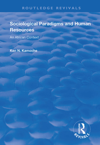Sociological Paradigms and Human Resources An African Context book cover