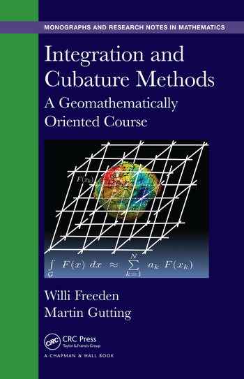 Integration and Cubature Methods A Geomathematically Oriented Course book cover