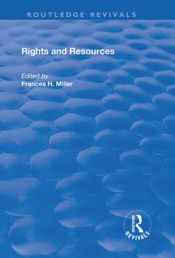 Rights and Resources book cover