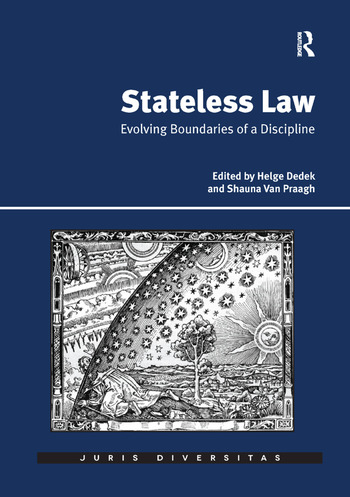 Stateless Law Evolving Boundaries of a Discipline book cover
