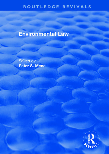 Environmental Law book cover