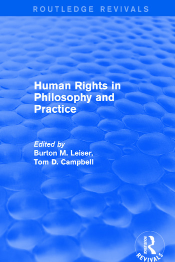 Revival: Human Rights in Philosophy and Practice (2001) book cover