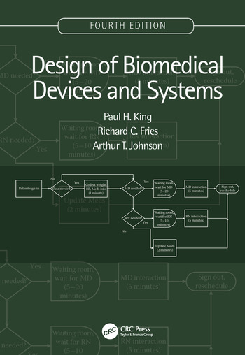 Design of Biomedical Devices and Systems, 4th edition book cover