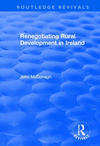 Renegotiating Rural Development in Ireland book cover