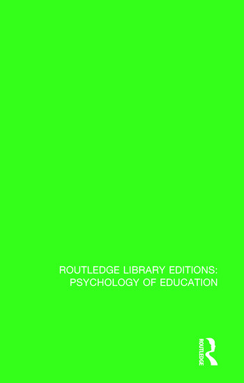 Psychological Aspects of Learning and Teaching book cover