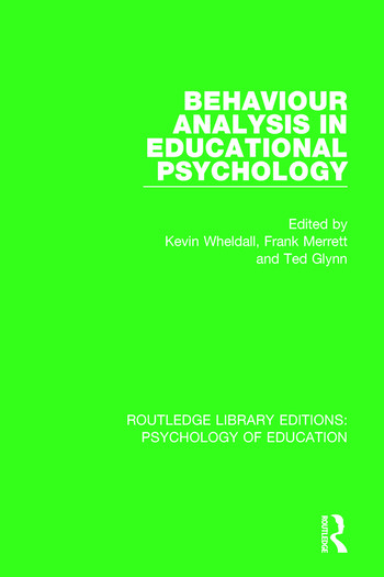 Behaviour Analysis in Educational Psychology book cover
