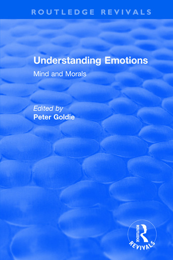 Understanding Emotions Mind and Morals book cover