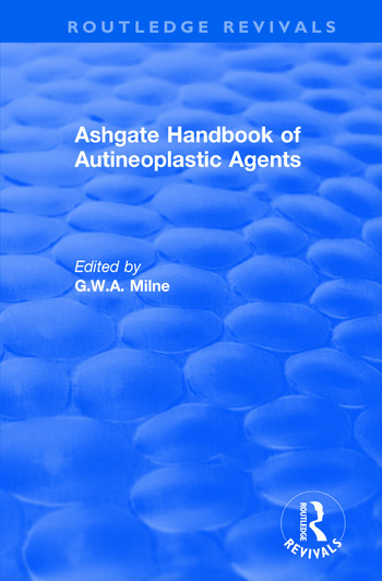 Ashgate Handbook of Autineoplastic Agents book cover