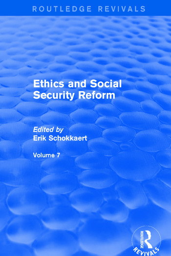 Ethics and Social Security Reform book cover