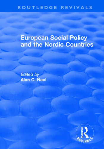 European Social Policy and the Nordic Countries book cover