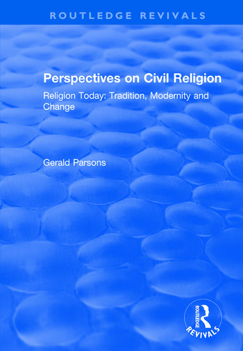 Perspectives on Civil Religion Volume 3 book cover