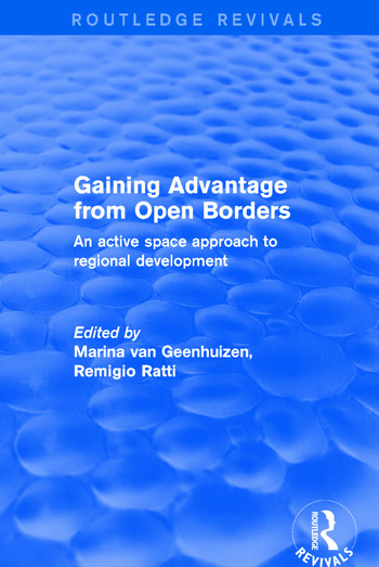 Revival: Gaining Advantage from Open Borders (2001) An Active Space Approach to Regional Development book cover