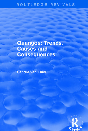 Revival: Quangos: Trends, Causes and Consequences (2001) book cover