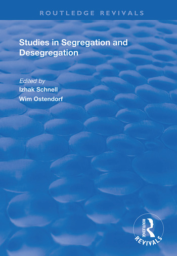 Studies in Segregation and Desegregation book cover