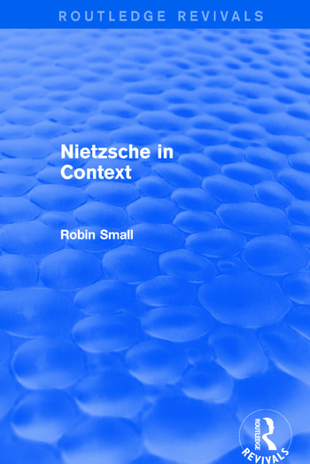 Nietzsche in Context book cover