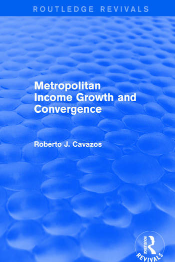Metropolitan Income Growth and Convergence book cover