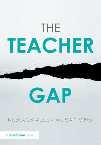 The Teacher Gap book cover