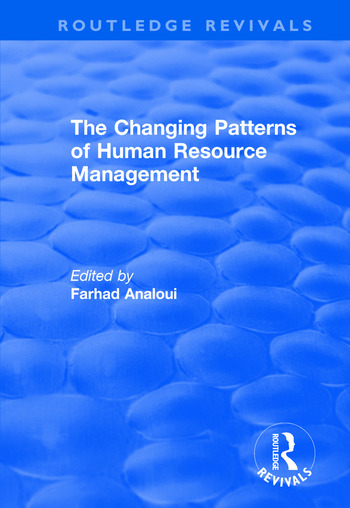 The Changing Patterns of Human Resource Management book cover