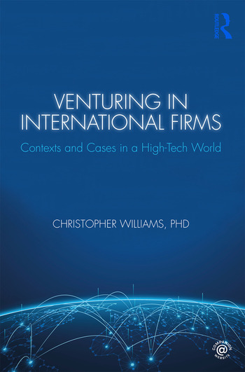 Venturing in International Firms Contexts and Cases in a High-Tech World book cover