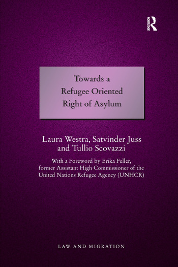 Towards a Refugee Oriented Right of Asylum book cover