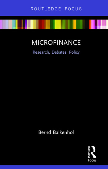 Microfinance Research, Debates, Policy book cover