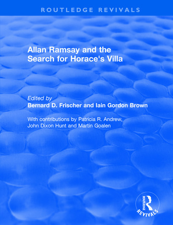 Allan Ramsay and the Search for Horace's Villa book cover